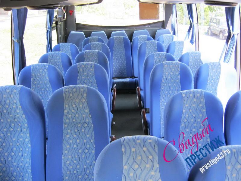 Автобус ЮТОНГ 30 мест