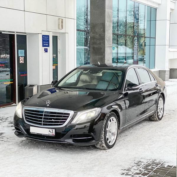 Mercedes S-class W222 Long